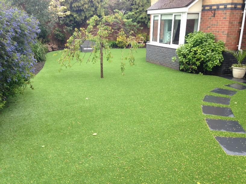 queenie art grass